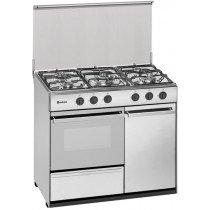 Meireles G 2950 DV Cocina independiente Acero inoxidable Encimera de gas