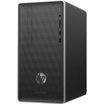 HP Pavilion 590-a0200ns AMD E E2-9000 4 GB DDR4-SDRAM 1000 GB Unidad de disco duro Mini Tower Plata PC Windows 10 Home