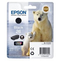 Epson Polar bear Cartucho 26 negro