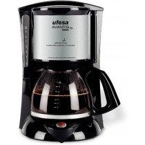 Ufesa CG7232 Avantis 70 Inox Cafetera de filtro Negro, Gris 1 L 15 tazas
