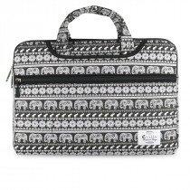 "e-Vitta Elephant maletines para portátil 39,6 cm (15.6"") Funda Negro, Blanco"