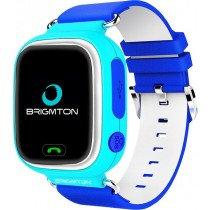 """Brigmton BWATCH-KIDS-A reloj inteligente Azul, Blanco LCD 3,1 cm (1.22"""") Móvil GPS (satélite)"""