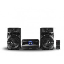Panasonic SCUX100EK Home audio mini system 300W Negro sistema de audio para el hogar