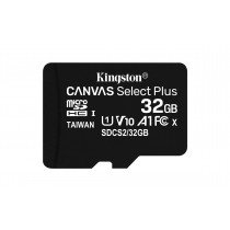Kingston Technology Canvas Select Plus memoria flash 32 GB MicroSDHC Clase 10 UHS-I