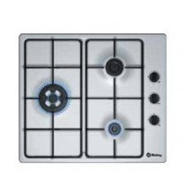 Balay 3ETX463MB hobs Plata Built-in (placement) Encimera de gas 3 zona(s)