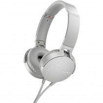 Sony MDR-XB550AP auriculares para móvil Binaural Diadema Blanco