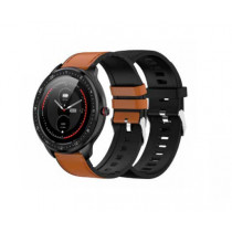 DCU Advance Tecnologic Smartwatch Full Touch Negro, Marrón