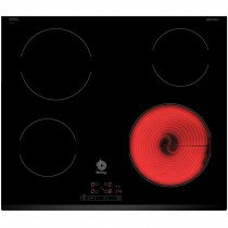 Balay 3EB720LR hobs Negro Built-in (placement) Cerámico 4 zona(s)