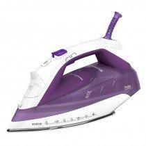 Beko SPA7131P Plancha vapor-seco Suela de cerámica 3100W Púrpura, Color blanco plancha