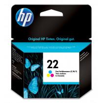 HP Cartucho de tinta original 22 Tri-color