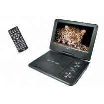 "Aura DV19X Portable DVD player Convertible 9"" 800 x 480Pixeles Negro"