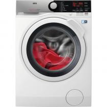 AEG L7FEE841 lavadora Independiente Carga frontal 8 kg 1400 RPM C Negro, Gris, Blanco