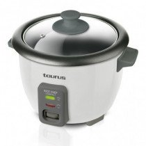 Taurus Rice Chef Compact 0.6L 700W Negro, Gris arrocera
