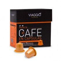 Viaggio Espresso Ristretto Cápsula de café Tueste oscuro 10pieza(s)