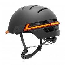 Livall Bling Helmet BH51 M Casco semiintegral Ciclismo, Patinete, Skateboarding Negro, Grafito