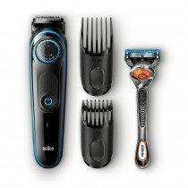 Braun Base BT5040 depiladora para la barba Negro, Azul