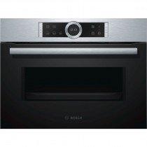 Bosch Serie 8 CFA634GS1 microondas Integrado 36 L 900 W Negro, Acero inoxidable