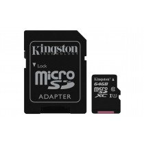 Kingston Technology Canvas Select memoria flash 64 GB MicroSDXC Clase 10 UHS-I