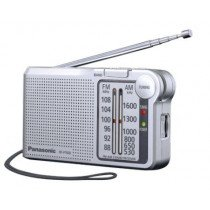 Panasonic RF-P150DEG Portátil Analógica Plata radio