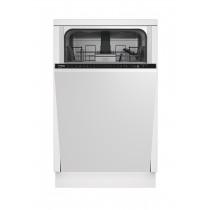 Beko DIS28023 lavavajilla Completamente integrado 10 cubiertos
