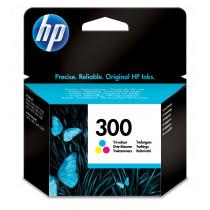 HP 300 1 pieza(s) Original Rendimiento estándar Cian, Magenta, Amarillo