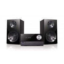 LG CM2460 sistema de audio para el hogar Microcadena de música para uso doméstico Negro 100 W