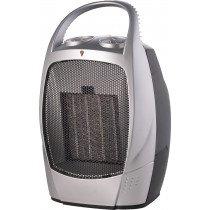SVAN SVCA501CC calefactor eléctrico Ventilador eléctrico Interior Negro, Metálico 1500 W