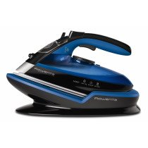 Rowenta Freemove DE5010 Plancha a vapor Microsteam 400 soleplate 2400W Negro, Azul