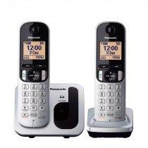 Panasonic KX-TGC212 Teléfono DECT Metálico Identificador de llamadas