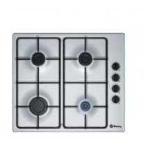 Balay 3ETX464MB hobs Plata Built-in (placement) Encimera de gas 4 zona(s)