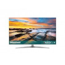 "Hisense H50U7B TV 125,7 cm (49.5"") 4K Ultra HD Smart TV Wifi Negro, Plata"