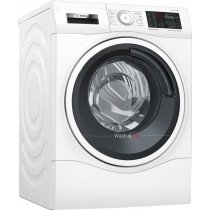 Bosch Serie 6 WDU28540ES lavadora Carga frontal Freestanding (placement) Blanco A
