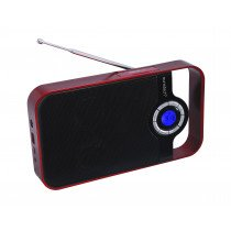 Sunstech RPDS250 Portátil Digital Rojo radio