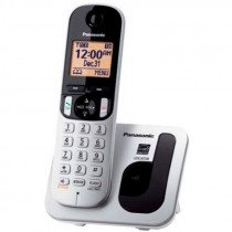 Panasonic KX-TGC210 Teléfono DECT Metálico Identificador de llamadas
