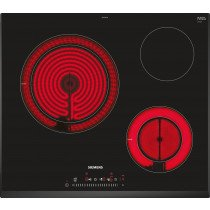 Siemens ET651FKP2E hobs Negro Built-in (placement) Cerámico 3 zona(s)