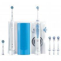 Oral-B PRO 80308727 cepillo eléctrico para dientes Adulto Cepillo dental oscilante Azul, Blanco