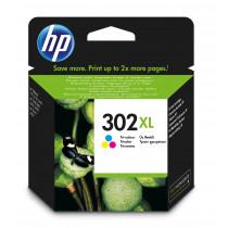 HP 302XL cartucho de tinta 1 pieza(s) Original Alto rendimiento (XL) Cian, Magenta, Amarillo