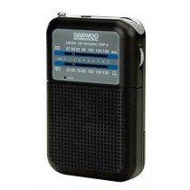 Daewoo DRP-8 Personal Analógica Negro radio