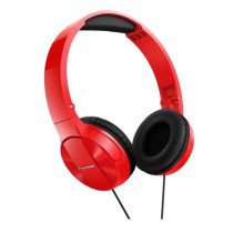 Pioneer SE-MJ503 Auriculares Diadema Negro, Rojo