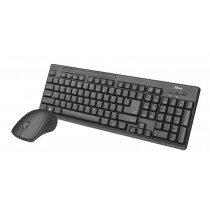 Trust Ziva teclado RF Wireless Español Black