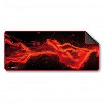 Phoenix Technologies Factorpad L Negro, Rojo Alfombrilla de ratón para juegos