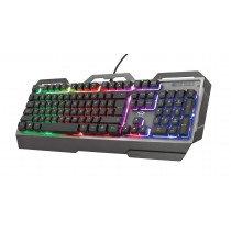 Trust GXT 856 Torac teclado USB QWERTY Español Negro