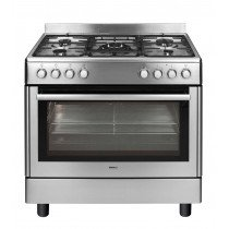 Beko GM15121DX cocina Cocina independiente Acero inoxidable Encimera de gas B