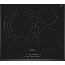 Siemens EH651FDC1E hobs Negro Built-in (placement) Con placa de inducción 3 zona(s)