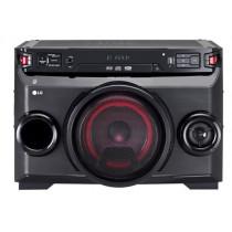 LG OM4560 sistema de audio para el hogar Microcadena de música para uso doméstico Negro 220 W