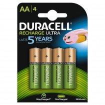 Duracell 4xAA 2400mAh Batería recargable
