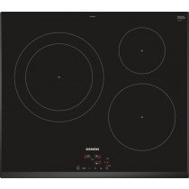 Siemens EH651BJB1E hobs Negro Built-in (placement) Con placa de inducción 3 zona(s)