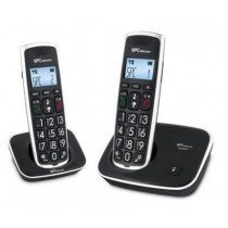 SPC Comfort Kaiser Duo Teléfono Negro 7609N