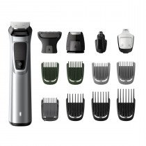 Philips MULTIGROOM Series 7000 Cara, cabello y cuerpo 14 en 1 con 14 herramientas