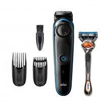 Braun BT3240 depiladora para la barba Mojado y seco Negro, Azul